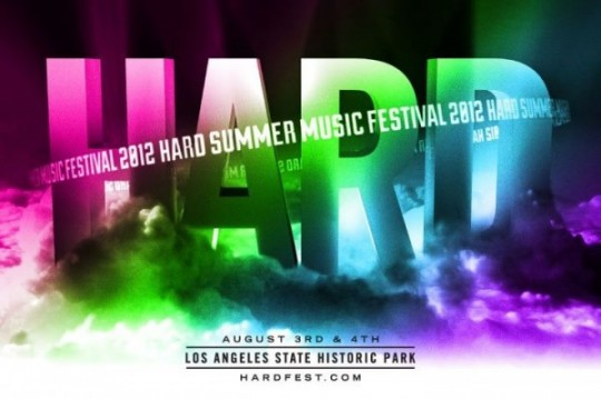 Skrillex, Boys Noize, And Miike Snow Headline Hard Summer 2012