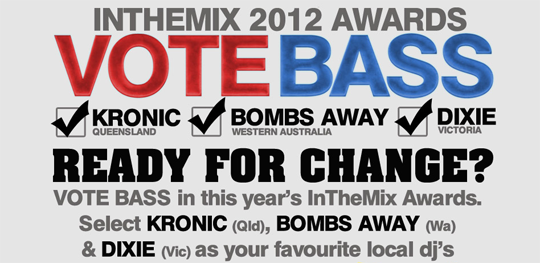 Vote For Bombs Away For The In The Mix Awards 2012