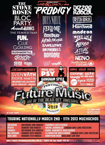 Bombs Away Set To Perform At Australia Future Music Festival 2013!