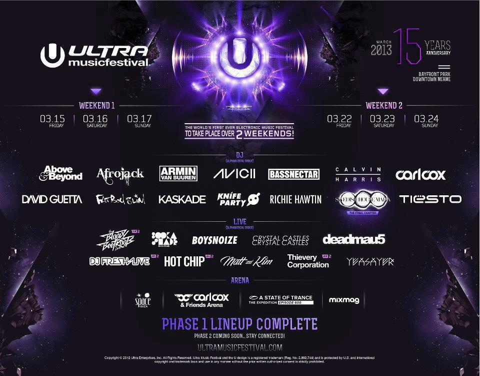 Ultra Music Festival Weekend 2