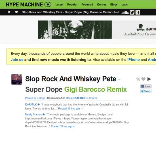 slop rock hypemachine