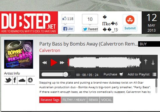 dubstep.net bombs away