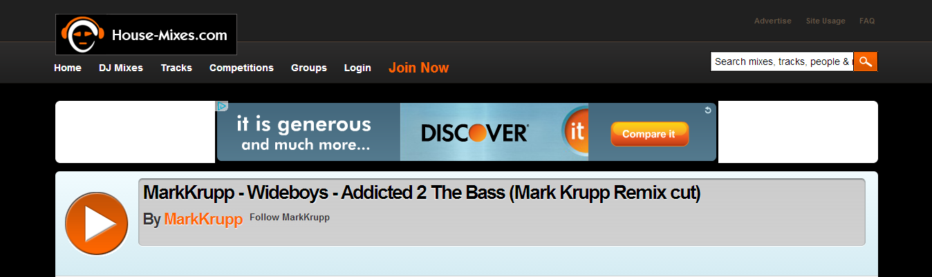 "Wideboys' ""Addicted 2 The Bass"" Featured On House-Mixes.com"