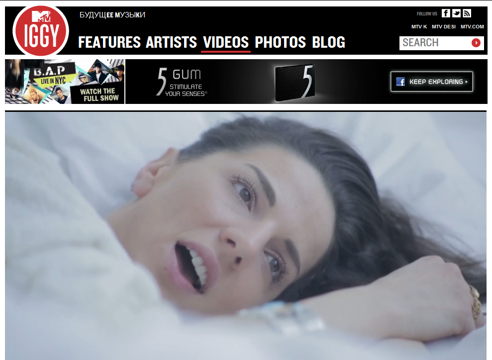 "Ayah Marar's ""Lethal Dose"" Featured On MTV Iggy"