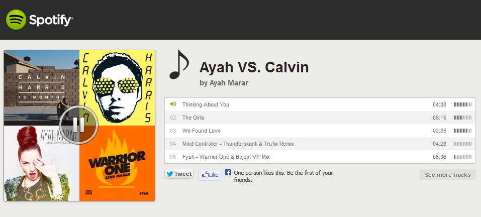 "Check out Ayah Marar's ""Ayah Vs. Calvin"" Spotify Playlist"