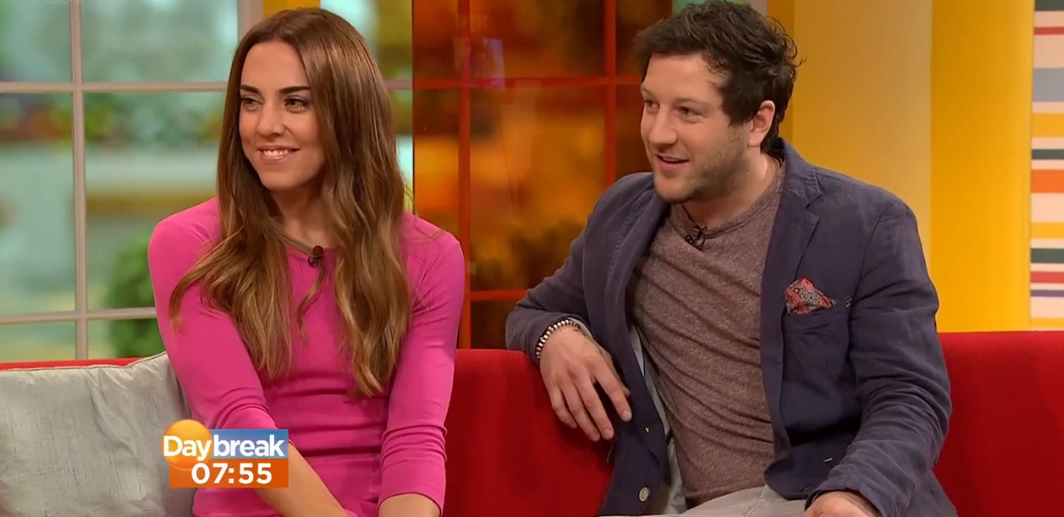 Check Out The Matt Cardle & Melanie C Interview/Performance On Daybreak