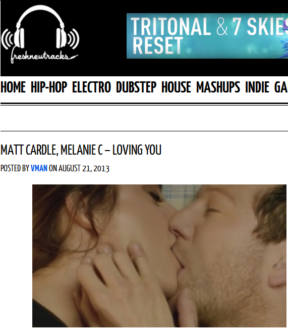 "Fresh New Tracks Features Matt Cardle & Melanie C's ""Loving You"""