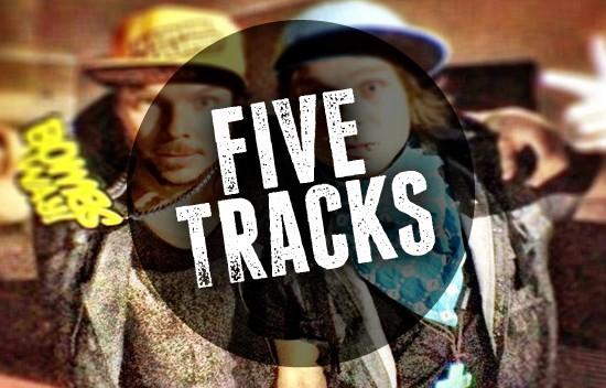 FiveTracksBombsAway