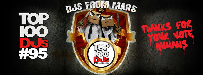 DJs From Mars Hit #95 On DJ Mag's Top 100 Charts For 2013