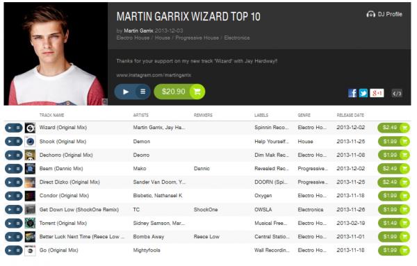 Martin Garrix Top 10
