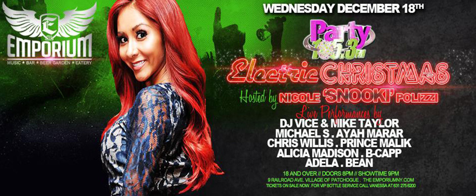Party 105 Presents 2013 Electric Christmas Hosted By Snookie
