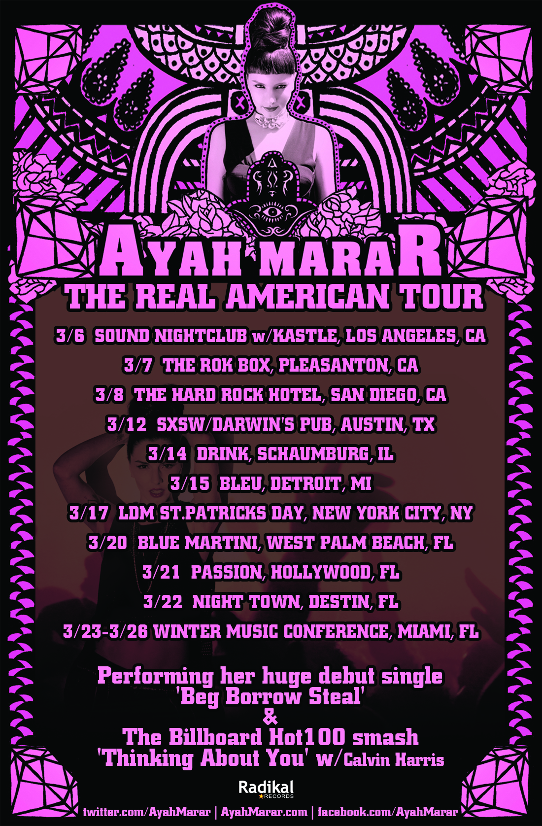 "Ayah Marar Announces ""The Real American Tour"""