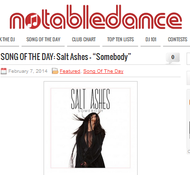 Notable Dance Picks Salt Ashes As Song Of The Day