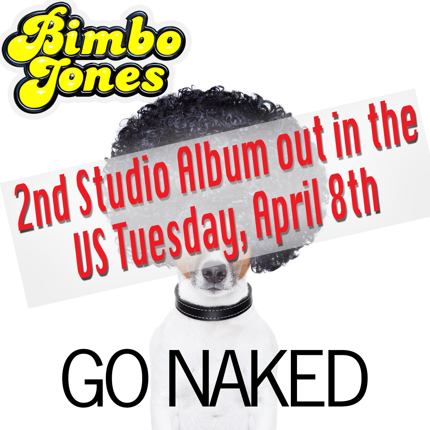 "Bimbo Jones' Album ""Go Naked"" Available April 8th!"