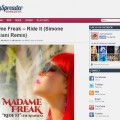Madame Freak JamSpreader.com Ride It Simone Bresciani Remix