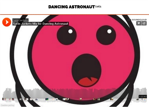 Salt Ashes Satin Jackets Remix Dancing Astronaut