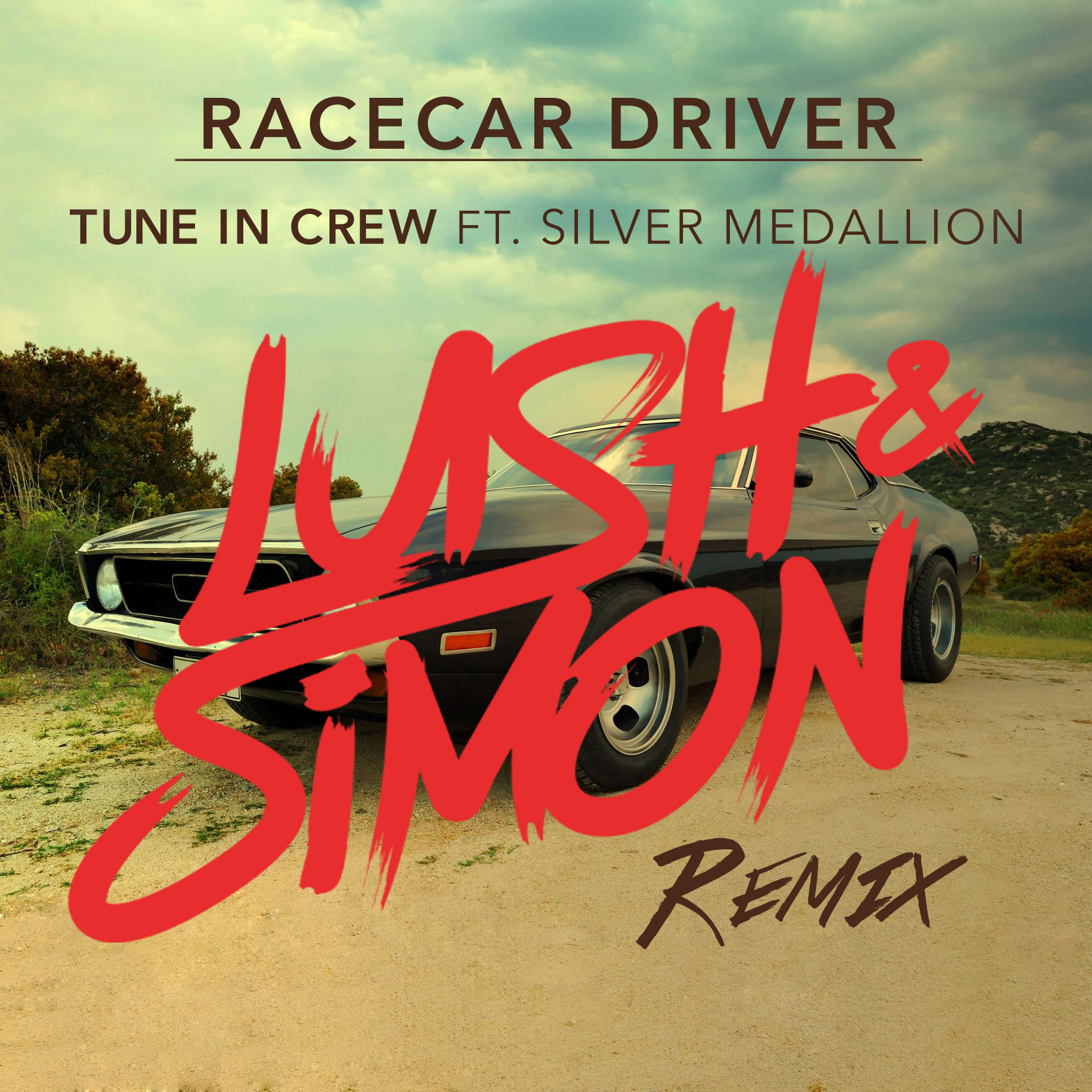 "Tune In Crew ft Silver Medallion ""Racecar Driver"" (Lush & Simon Remix) on EDMTunes.com"