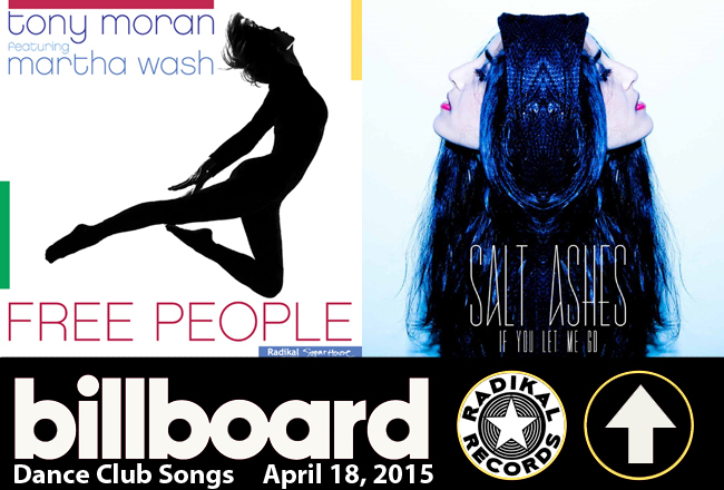 Radikal Records in Billboard Dance Club Top 5
