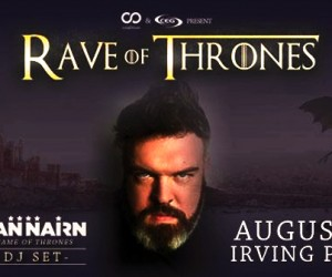 Don't Miss Kristian Nairn's Return to NYC- Rave of Thrones TONIGHT!