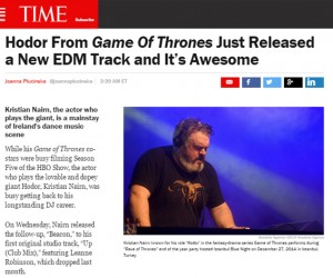 Kristian Nairn's 'Up/Beacon' Featured On TIME