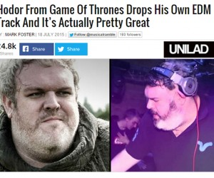 "Kristian Nairn's 'Beacon' Is ""Pretty Great"" According to UNILAD"