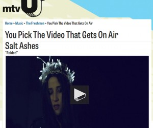 "Vote for Salt Ashes ""Raided"" on mtvU's The Freshmen"