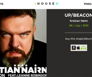 "Kristian Nairn's Debut Single ""Up/Beacon"" Featured on IHouseU.com"