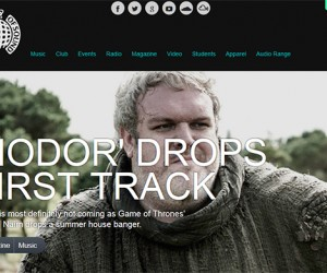 Kristian Nairn's Lead Single 'Up (feat. Leanne Robinson)' Featured on Ministry of Sound