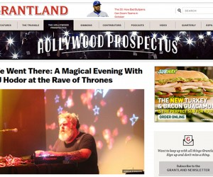 Grantland Gives Kristian Nairn's 'Rave of Thrones' a Rave Review