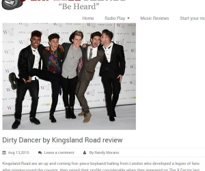 "Kingsland Road's ""Dirty Dancer"" Reviewed by Exposed Vocals"