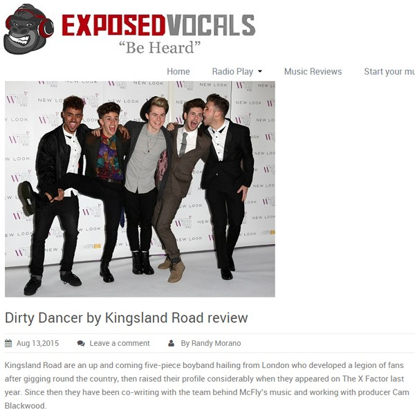 Kingsland Road - Exposed Vocals Review