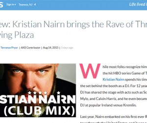 AXS Reviews Kristian Nairn's 'Rave of Thrones' Set at Irving Plaza