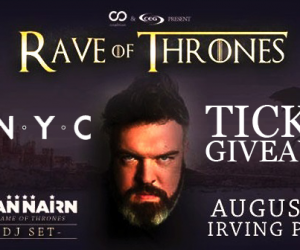 Do NYC Rave of Thrones Ticket Giveaway