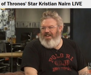 Kristian Nairn's Exclusive Interview With Huffington Post Live