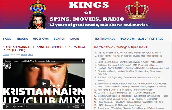 kings os spins