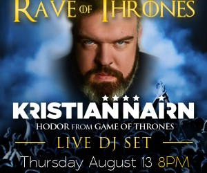 Dancing Astronaut Gets Fans Excited for Kristian Nairn's NYC 'Rave of Thrones' DJ Set