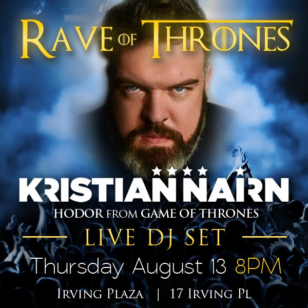 Kristian Nairn Live DJ Set