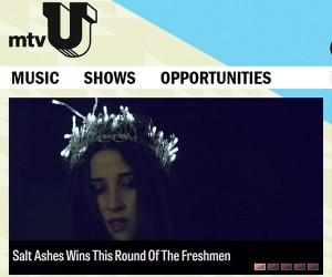 Salt Ashes Wins This Round of mtvU's The Freshmen