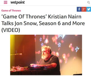Watch Part Two of Kristian Nairn's Interview With Wetpaint