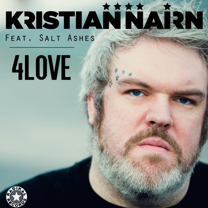 Kristian Nairn - 4Love (feat. Salt Ashes) Cover Art