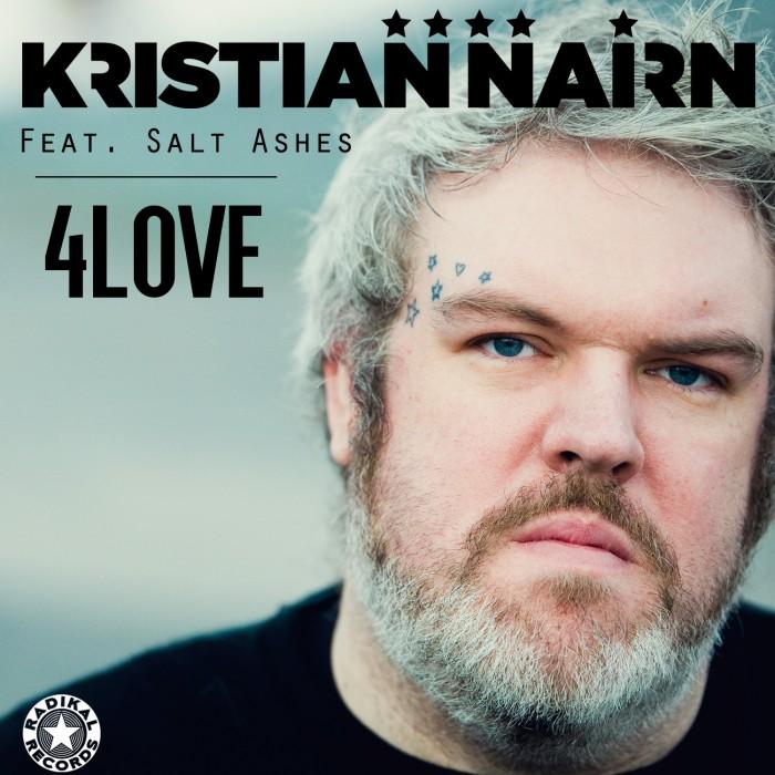 Kristian Nairn - 4Love (feat. Salt Ashes) Cover Art