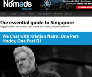 City Nomads Chats With Kristian Nairn