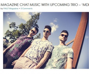 Fault Magazine Chats With Up and Coming Trio MDNGHT