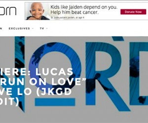 "Noise Porn Premieres Lucas Nord's ""Run on Love (feat. Tove Lo) [JKGD Remix]"""