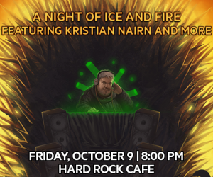 Don't Miss 'A Night of Fire and Ice' Hosted By Kristian Nairn During NYC's Comic Con