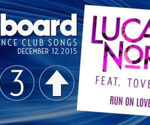 Lucas Nord's 'Run on Love' Climbs to #3 on Billboard's Dance Club Songs Chart