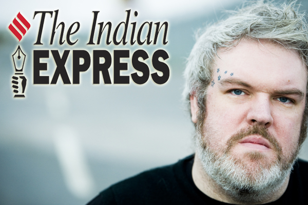 India Comic Con Kristian Nairn Hodor Game of Thrones Up Beacon 4Love DJ