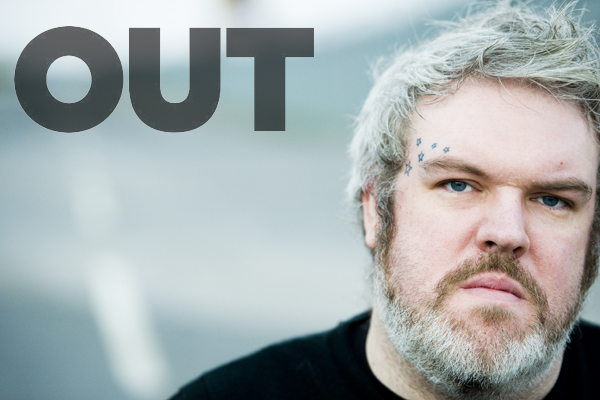 Kristian Nairn Out Magazine Hodor Game of Thrones Up Beacon 4Love Radikal Records