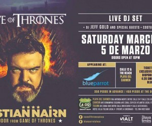 Kristian Nairn's 'Rave of Thrones' Heads to Playa del Carmen