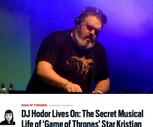 The Daily Beast Discusses The Secret Musical Life of 'Game of Thrones' Star Kristian Nairn